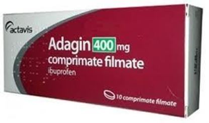 Imagine ADAGIN 400MG X 10 COMPRIMATE FILMATE