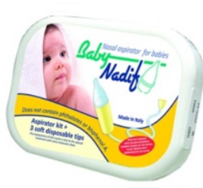 Imagine ASPIRATOR NAZAL BABY NADIF X 1 BUCATA