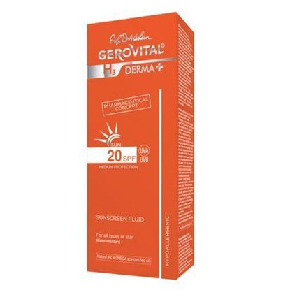 Imagine GEROVITAL H3 DERMA+ SUN FLUID PROTECTIE SOLARA SPF20 150ML