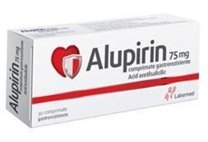 Imagine ALUPIRIN 75MG X 30 COMPRIMATE GASTROREZISTENTE LABORMED