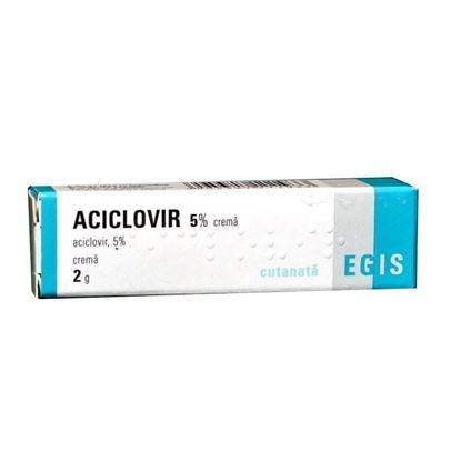 Imagine ACICLOVIR CREMA 5% X 2 GRAME EGIS